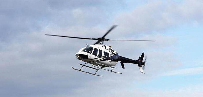 Ιδιωτικό ελικόπτερο έπεσε στον Πόρο