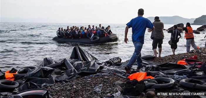 Λέσβος: 547 μετανάστες ήρθαν σε μία μέρα, πάνω από 10.000 ζουν στη Μόρια