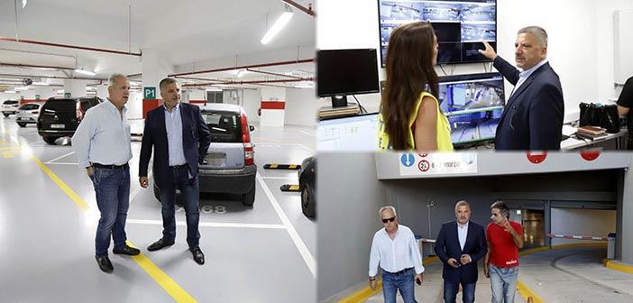 Τη λειτουργία του υπόγειου πάρκινγκ στην πλατεία Ευτέρπης Αμαρουσίου επιθεώρησε ο Γιώργος Πατούλης