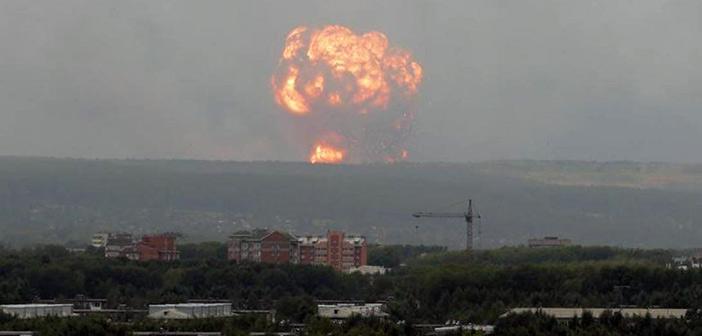 Ρωσία: Έκρηξη σε πεδίο δοκιμής πυραύλων – Αύξηση της ραδιενέργειας και δύο νεκροί
