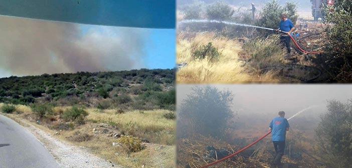 Τα «μαχίμια» του ΣΠΑΠ πρώτα και στις φωτιές σε Μαραθώνα και Ζούμπερι
