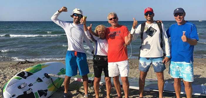Σέρφερ ετών 81 έκανε τον διάπλου Κεφαλλονιάς – Κυλλήνης