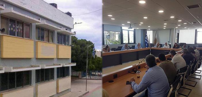Προβλήματα μετά τον σεισμό του Ιουλίου σε αίθουσες τριών σχολείων του Ηρακλείου Αττικής