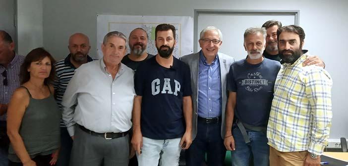 Συνάντηση δημάρχου Αμαρουσίου με τους εργαζόμενους στη Δ/νση Καθαριότητας & Ανακύκλωσης