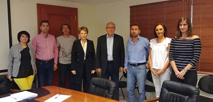 Συνάντηση δημάρχου Αμαρουσίου με τον Σύλλογο Εργαζομένων του Δήμου