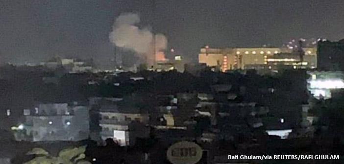 Αφγανιστάν: Ρουκέτα κοντά στην πρεσβεία των ΗΠΑ, 18 χρόνια μετά τις επιθέσεις της 11ης Σεπτεμβρίου