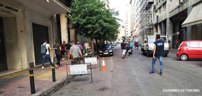 ΕΛ.ΑΣ.: Επιχείρηση-«σκούπα» για ναρκωτικά στο κέντρο της Αθήνας