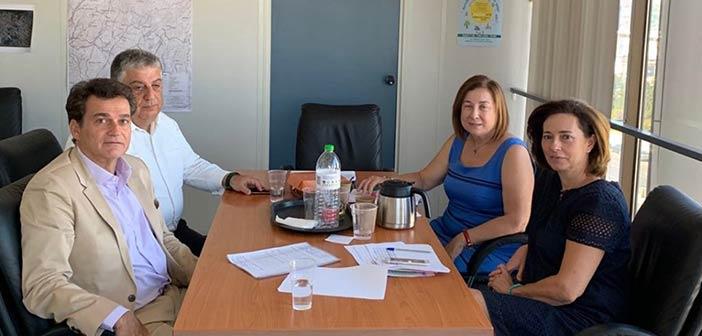 Φλέγοντα θέματα του Δήμου Φιλοθέης – Ψυχικού συζήτησαν Δ. Γαλάνης και Λ. Κεφαλογιάννη