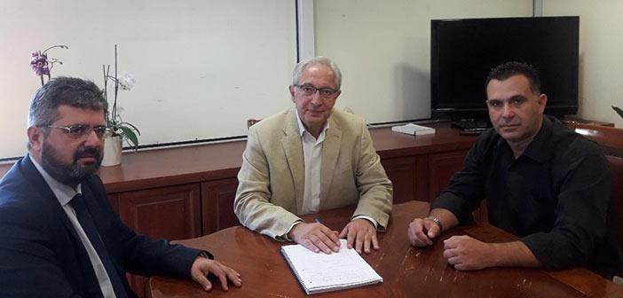 Με τη διοίκηση του ΙΓΕ συναντήθηκε ο δήμαρχος Αμαρουσίου