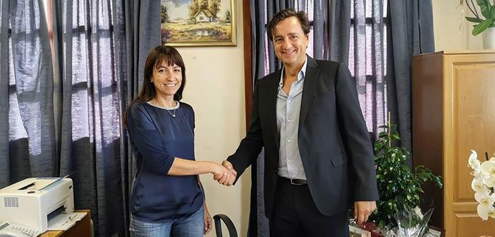Το ΣΒΑΚ Δήμου Πεντέλης υπέγραψε η Δήμητρα Κεχαγιά