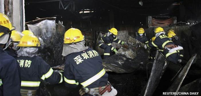 Κίνα: 19 νεκροί σε πυρκαγιά σε εργοστάσιο