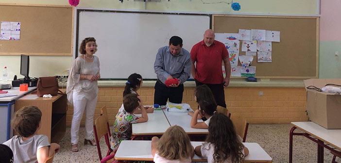 Τους μαθητές της πρώτης Δημοτικού καλωσόρισε ο δήμαρχος Λυκόβρυσης – Πεύκης