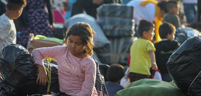 Ασφυκτική η κατάσταση στη Μόρια: Μένουν 12.000 πρόσφυγες αντί για 3.000