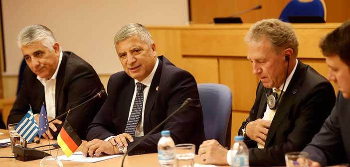 Συνάντηση Γ. Πατούλη με τον Γερμανό υφυπουργό Οικονομικής Συνεργασίας και Ανάπτυξης