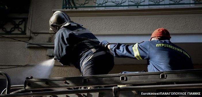 Κολωνάκι: Νεκρή 75χρονη από πυρκαγιά σε κτήριο