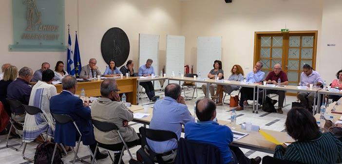 Συνάντηση εργασίας δημάρχου Αμαρουσίου και δ/ντών δευτεροβάθμιας εκπαίδευσης
