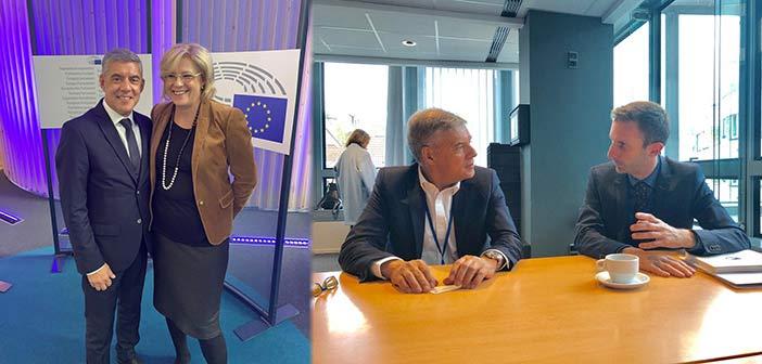Κ. Αγοραστός από Βρυξέλλες: Χρειάζονται αποφάσεις εναρμονισμένες με τις επιθυμίες των πολλών
