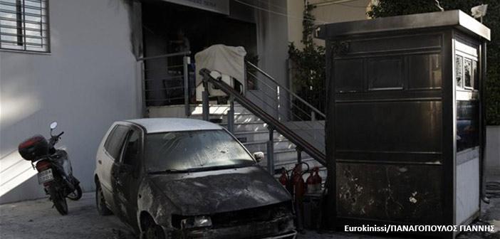 Πεντέλη: Επίθεση με μολότοφ κατά του αστυνομικού τμήματος