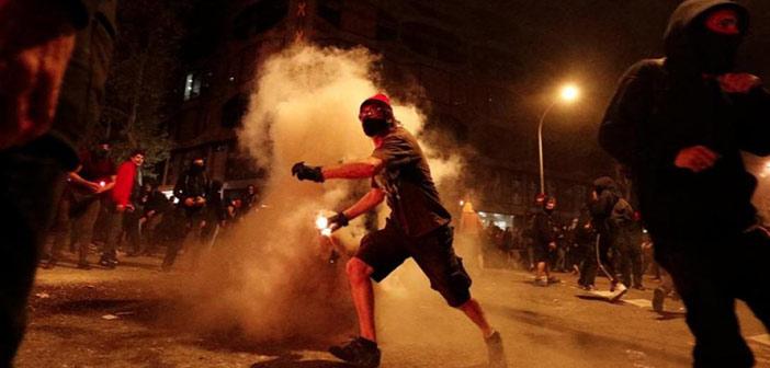 Ισπανία: Συγκρούσεις στη Μαδρίτη με 26 τραυματίες