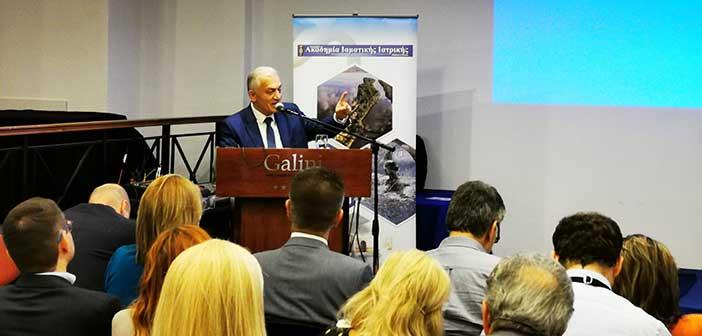 Ο υποψ. πρόεδρος της ΚΕΔΕ Λ. Κυρίζογλου στο 5ο Πανελλήνιο Συνέδριο Ιαματικής Ιατρικής
