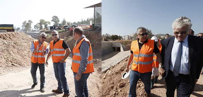 Γ. Πατούλης: Προχωράμε με γρήγορους ρυθμούς σε όσα έργα απαιτούνται για να μην ξανανιώσει κανένας κάτοικος της Αττικής απροστάτευτος