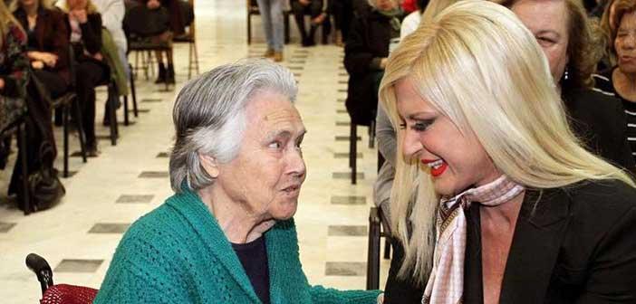 Μ. Πατούλη-Σταυράκη: Στους ηλικιωμένους δεν αρμόζει ο παροπλισμός
