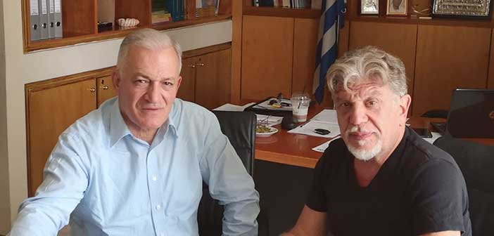 Συνάντηση Λ. Κυρίζογλου με τον Γ. Βούρο