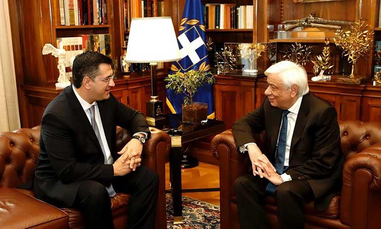 Με τον Πρόεδρο της Δημοκρατίας συναντήθηκε ο νέος πρόεδρος της ΕΝΠΕ