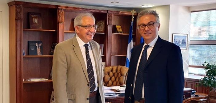 Συνάντηση Θ. Αμπατζόγλου – Θ. Ρουσόπουλου για τα μείζονα ζητήματα του Αμαρουσίου