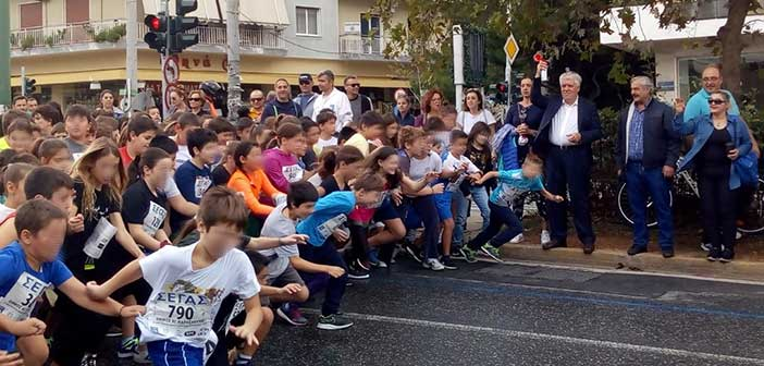 Πάνω από 1.200 παιδιά συμμετείχαν στον αγώνα δρόμου μικρών παιδιών στην Αγ. Παρασκευή