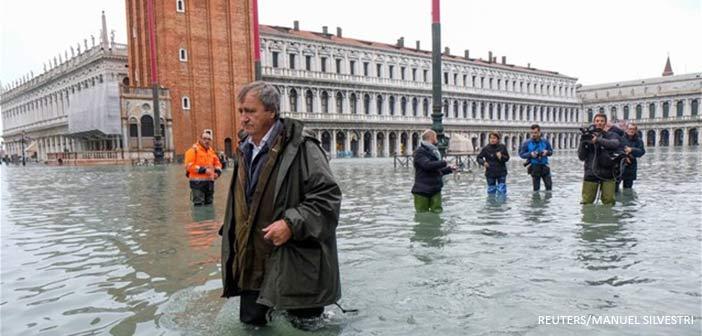 «Πνίγηκε» η Βενετία – Δύο νεκροί