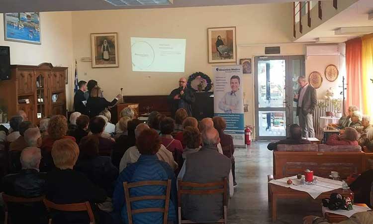 Περισσότερα από 100 μέλη του ΚΑΠΗ Αμαρουσίου συμμετείχαν σε ημερίδα και δωρεάν εξέταση ακοής