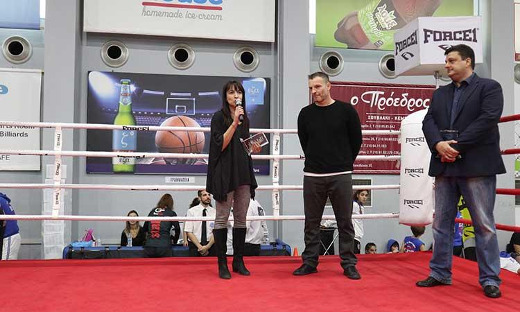 Η Δ. Κεχαγιά τιμήθηκε από τον Αθλητικό Σύλλογο Κ1 Gym και την Ελληνική Ομοσπονδία Kick Boxing