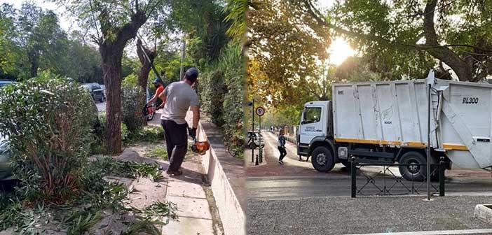 Δήμος Κηφισιάς: Κλαδεύσεις δένδρων και καθαριότητα στον Δήμο