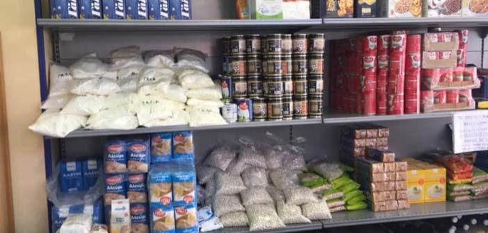 Διανομή τροφίμων από το Κοινωνικό Παντοπωλείο Νέας Ερυθραίας