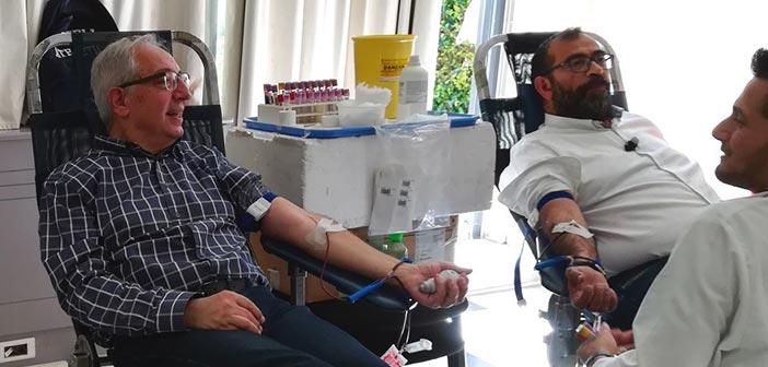 Με 199 μονάδες αίματος ενισχύθηκε η Δημοτική Τράπεζα Αίματος Αμαρουσίου