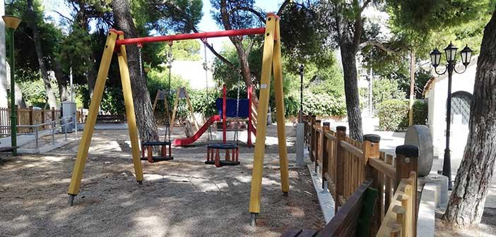 Ανοιχτές οι παιδικές χαρές επί των οδών Ιθώμης και Προφήτη Ηλία στο Χαλάνδρι