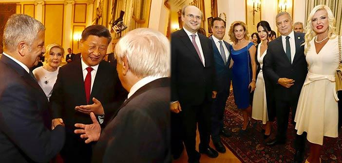 Στην εκδήλωση στο Προεδρικό Μέγαρο για τον Πρόεδρο της Κίνας ο περιφερειάρχης Αττικής