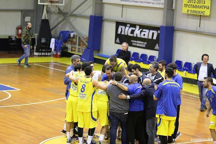 Μεγάλη νίκη του Ψυχικού επί του Οίακα Ναυπλίου για τη 10η αγωνιστική της Α2 μπάσκετ Ανδρών