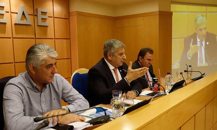 Διεξήχθη η τελευταία συνεδρίαση του Δ.Σ. της ΚΕΔΕ υπό την προεδρία Γ. Πατούλη