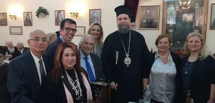 Επίσκεψη δημάρχου Ν. Ιωνίας στον μητροπολίτη Γαβριήλ ανήμερα της γιορτής του