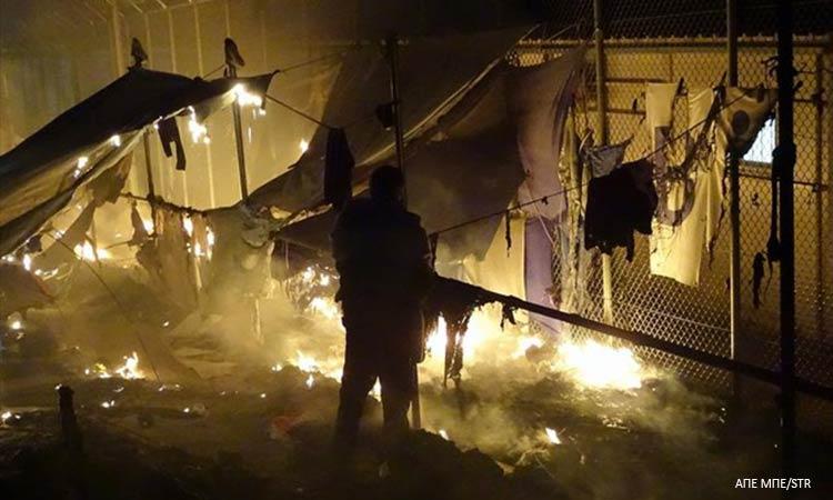 Νεκρή 27χρονη πρόσφυγας από έκρηξη φιάλης υγραερίου σε κοντέινερ στη Λέσβο