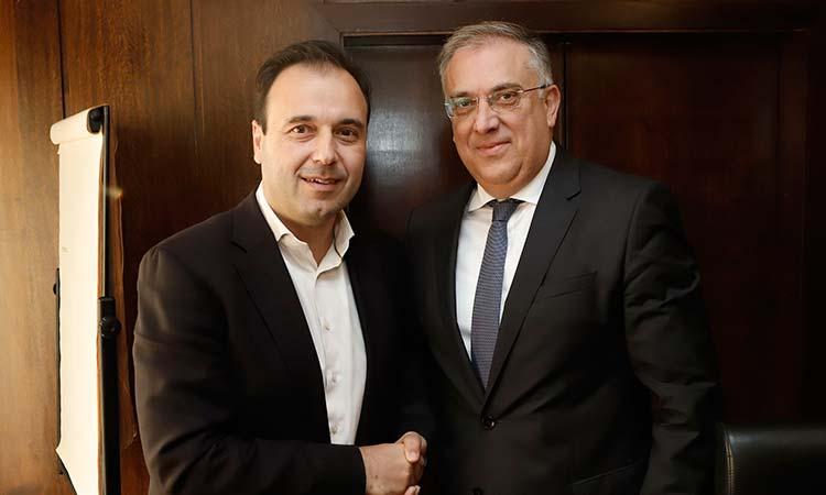 Συνάντηση του νέου προεδρείου της ΚΕΔΕ με τον υπουργό Εσωτερικών
