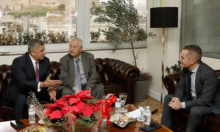 Συνάντηση περιφερειάρχη Αττικής με τον πρόεδρο του ΑΣΕΠ