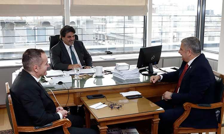 Συνάντηση περιφερειάρχη Αττικής με τον πρόεδρο του Νομικού Συμβουλίου του Κράτους