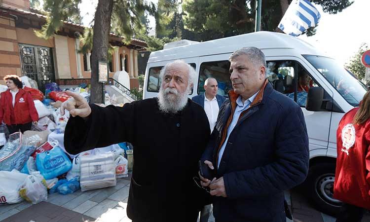 Περιφέρεια Αττικής και Ερυθρός Σταυρός σε δράση συγκέντρωσης βοήθειας για τους πληγέντες από τον σεισμό στην Αλβανία