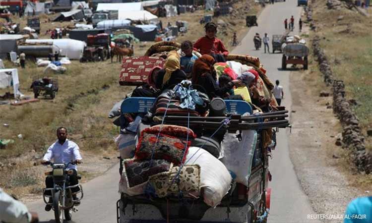 ΟΗΕ: Πάνω από 235.000 οι εκτοπισμένοι τις τελευταίες 11 ημέρες από τη βορειοδυτική Συρία