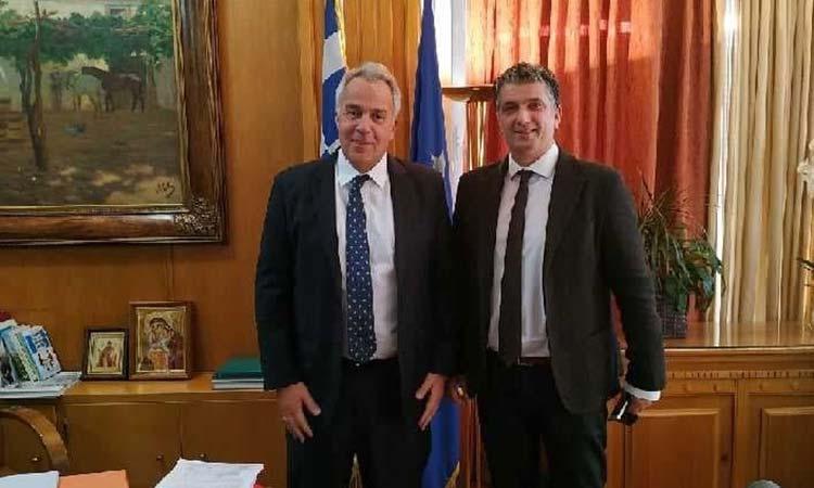 Οι αγωγές του Ελληνικού Δημοσίου στο επίκεντρο συνάντησης υπ. Αγροτικής Ανάπτυξης & Τροφίμων – δημάρχου Βριλησσίων