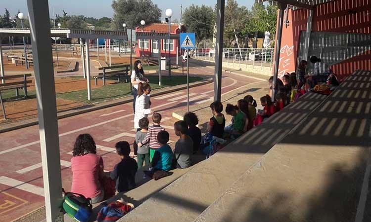 Εκπαιδευτικά προγράμματα στο Πάρκο Κυκλοφοριακής Αγωγής Δήμου Χαλανδρίου