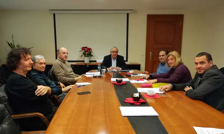 Συνάντηση δημάρχου Αμαρουσίου με τον Σύλλογο Πολυδρόσου